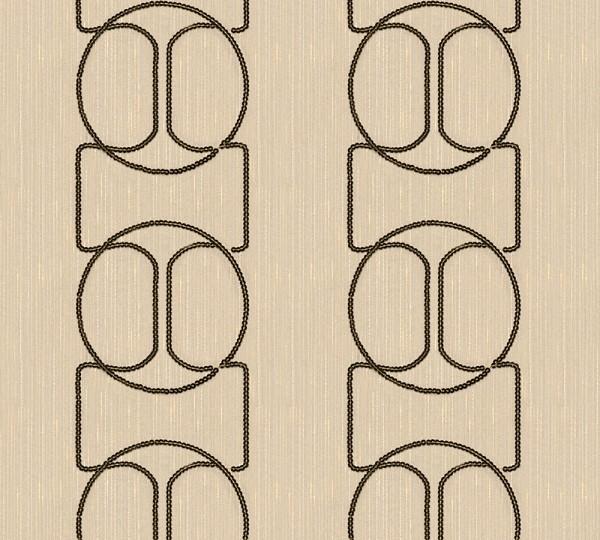 A.S. Création, Wall Fashion, # 306131, Vliestapete, Creme Metallic, 3,20 m x 0,53 m