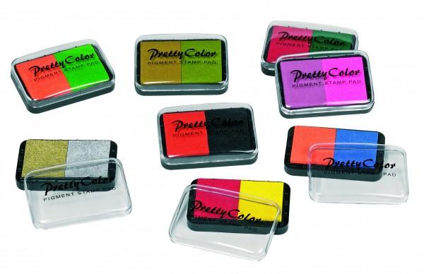 Stempelkissen - 2-farbig