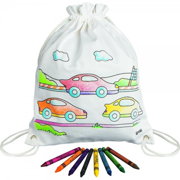 GOKI Textil-Rucksack Autos
