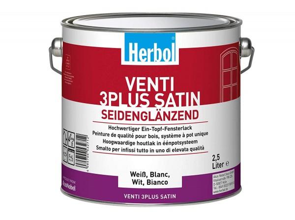 Herbol Venti 3Plus Satin 2,5l, weiss