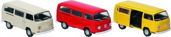 Volkswagen Bus T2 (1972), Spritzguss, 1:34-39, L= 11,3 cm