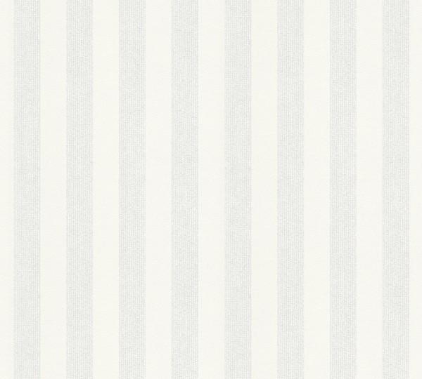 A.S. Création, Meistervlies 2020, # 320091, Vliestapete, Streifen, Überstreichbar, 25,00 m x 1,06 m