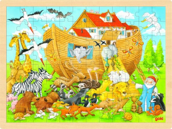 GOKI - Einlegepuzzle Einzug in die Arche Noah