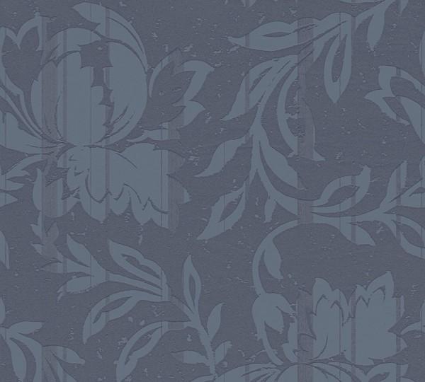 A.S. Création, New Look, # 327905, Vliestapete, Blau Grau