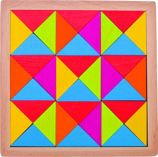 Legespiel Regenbogen Mosaik II