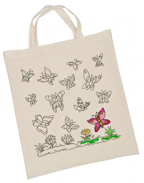 Baumwollbeutel Schmetterlinge
