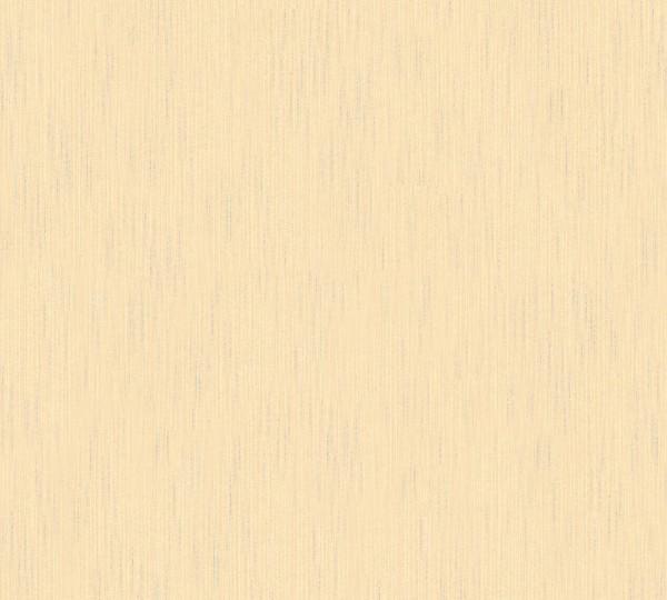 A.S. Création, Metallic Silk, # 309071, Vliestapete, uni, Creme