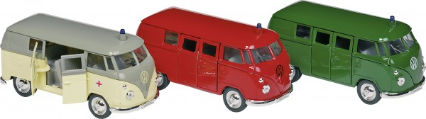 Volkswagen Microbus (1963), Spritzguss, 1:34-39, L = 11,5 cm