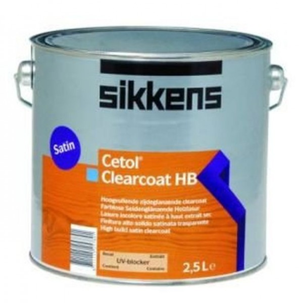 Sikkens Cetol Clearcoat HB 2,5l, farblos