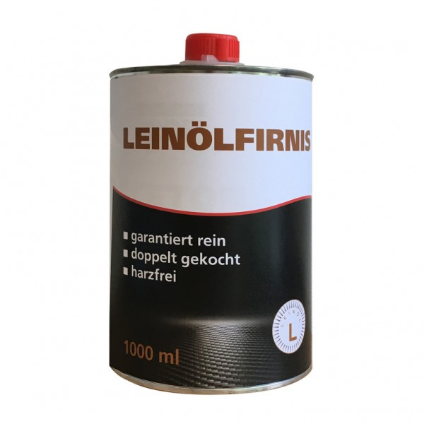 Kluthe - Profi Leinölfirnis, 1 l K - Oberflächenschutz für Holz