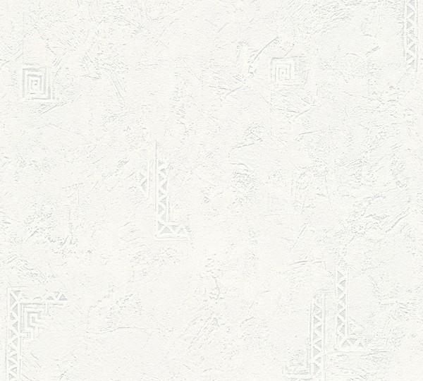 A.S. Création, Meistervlies 2020, # 321411, Vliestapete, Weiß, Überstreichbar, uni
