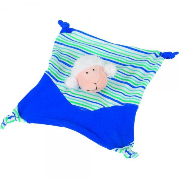 Kuscheltuch Schaf (blau)