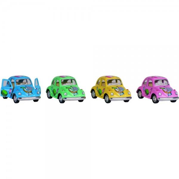 GOKI Volkswagen Käfer (1967) mit Druck,Spritzguß, L= 9,5 cm
