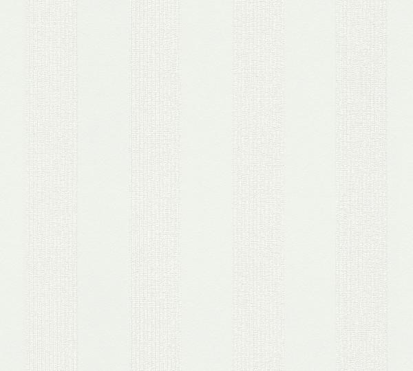 A.S. Création, Simply White 4, # 302372, Vliestapete, Weiß