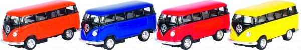 Volkswagen Microbus (1962), Spritzguss, 1:64, L= 6,5 cm