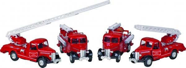 Classic Feuerwehr, Spritzguss, L= 12 - 13,5 cm