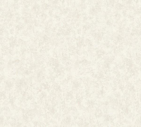 A.S. Création, Nobile, # 959412, Vliestapete, Metallic Weiß, 10,05 m x 0,70 m