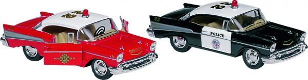 Chevrolet Bel Air (1957), Spritzguss, 1:40, L= 12,7 cm