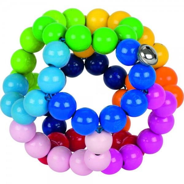 Greifling Elastik Regenbogenball, groß