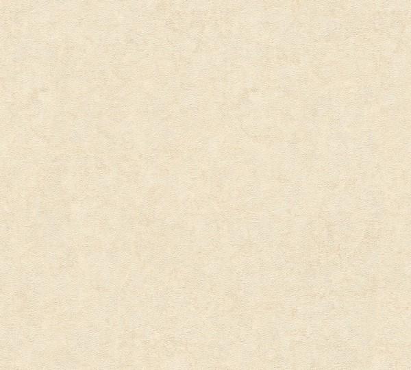 A.S. Création, Nobile, # 959414, Vliestapete, Creme Metallic, 10,05 m x 0,70 m