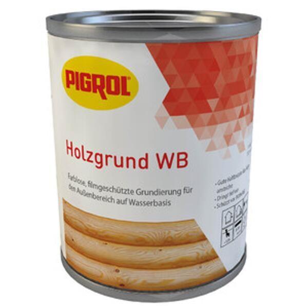 Pigrol HOLZGRUND WB farblos, 2,5L