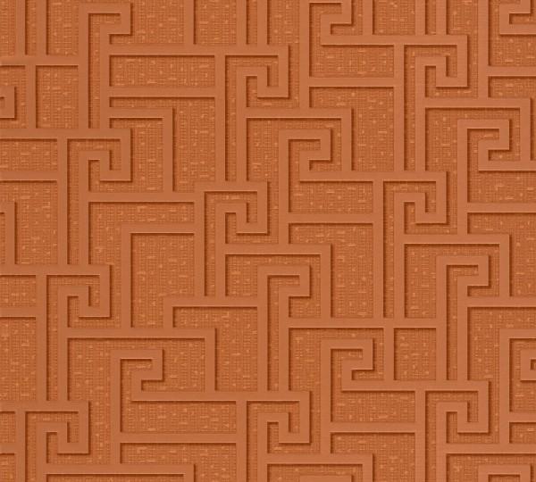 A.S. Création, Versace 2, # 962362, Vliestapete, Braun Metallic Orange, 10,05 m x 0,70 m