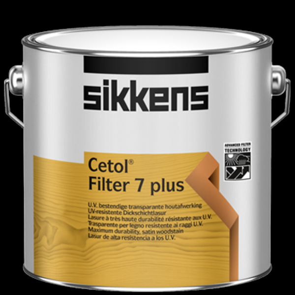 Sikkens Cetol Filter 7 plus esche- 2,5 L