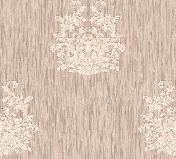 A.S. Création, Nobile, # 958613, Vliestapete, Metallic Lila, 10,05 m x 0,70 m