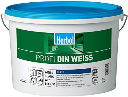 Herbol Profi DIN Weiss, 12,5 l Altweiß