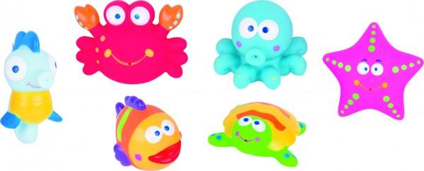 Wasserspritztiere Meer