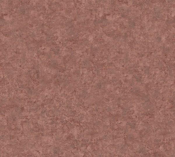A.S. Création. Nobil, # 959413, Vliestapete, Metallic Rot, 10,05 m x 0,70 m