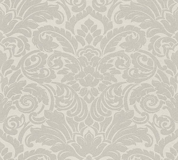 A.S. Création, Luxury wallpaper, # 305451, Vliestapete, Metallic Creme