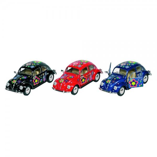 Volkswagen Käfer (1967) mit Druck,Spritzguss, 1:24, L= 17 cm