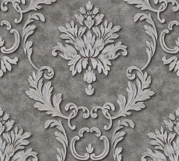 A.S. Création, Luxury wallpaper, # 324225, Vliestapete, Grau Metallic