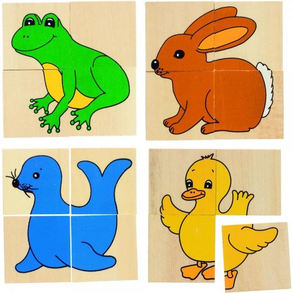Karemo- & Memospiel Tiere