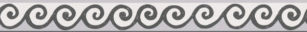 A.S. Création, Only Borders 10, # 303461, Borte aus Vlies (selbstklebend), Schwarz Weiß