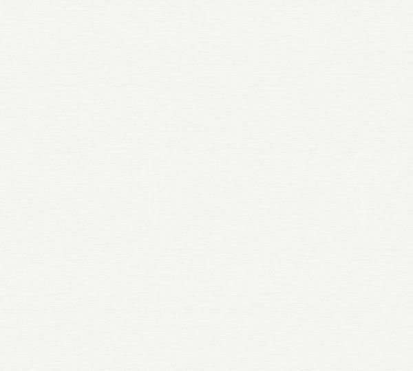 A.S. Création, Meistervlies 2020, #324115, Vliestapete, uni, Weiß, Überstreichbar, 25,00 m x 1,06 m