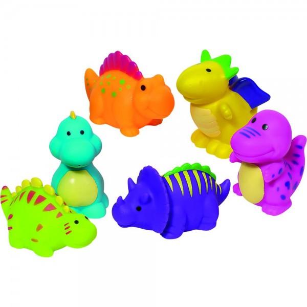 Wasserspritztiere Dinosaurier