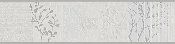 A.S. Création, Only Borders 10, # 305411, Borte aus Papier, 5,00 m x 0,13 m, Beige Grau Metallic