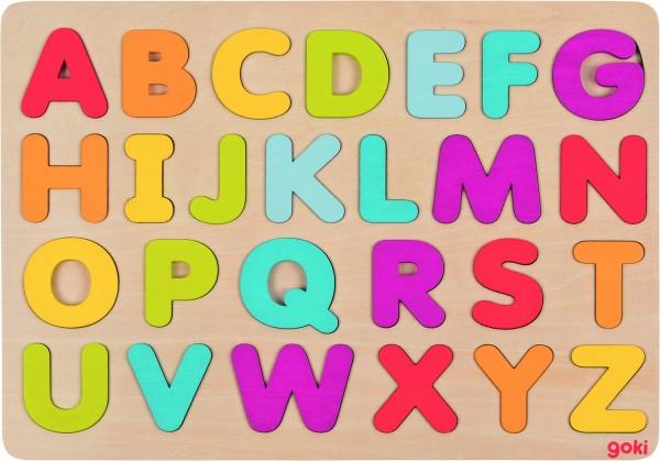 GOKI Alphabetpuzzle aus Holz