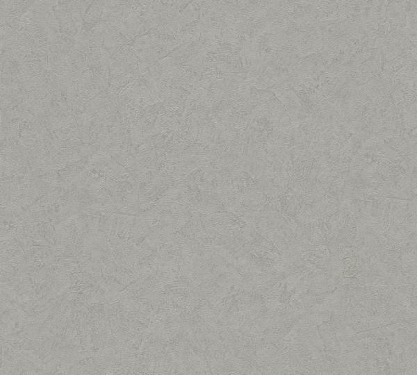 A.S. Création, Titanium, # 315359, Vliestapete, uni, Grau