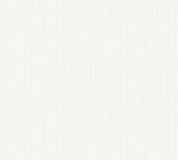 A.S. Création, Meistervlies 2020, # 320051, Vliestapete, Weiß Überstreichbar, 25,00 m x 1,06 m