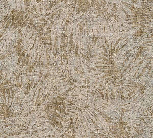 A.S. Création, Borneo, # 322633, Vliestapete, Braun Metallic