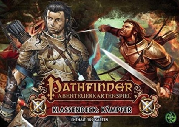 Asmodee - Pathfinder Abenteuerkartenspiel Klassendeck: Kämpfer