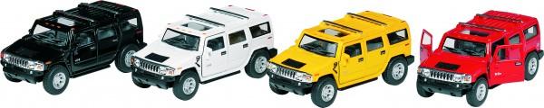 Hummer H2 SUV (2008),Spritzguss, 1:40, L= 12,5 cm