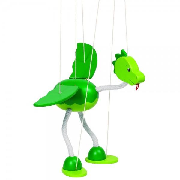 Marionette Dinosaurier Nepomuk