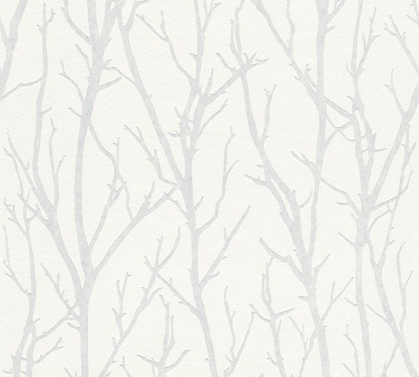A.S. Création, Meistervlies 2020, # 321015, Vliestapete, Weiß, Überstreichbar