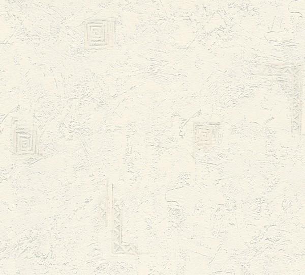 A.S. Création, New Look, # 191656, Vliestapete, Grau Weiß