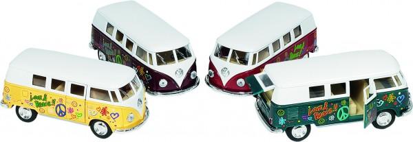 Volkswagen Microbus (1962) mit Druck, 1:32, L= 13,5 cm