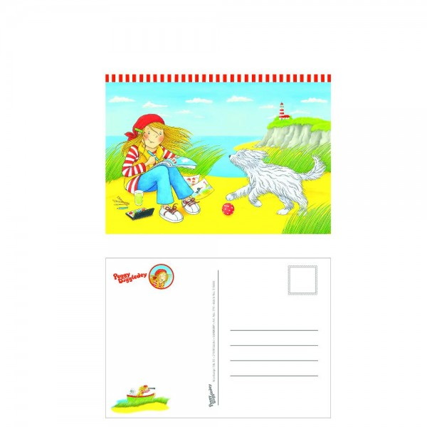 Postkarte, Peggy Diggledey